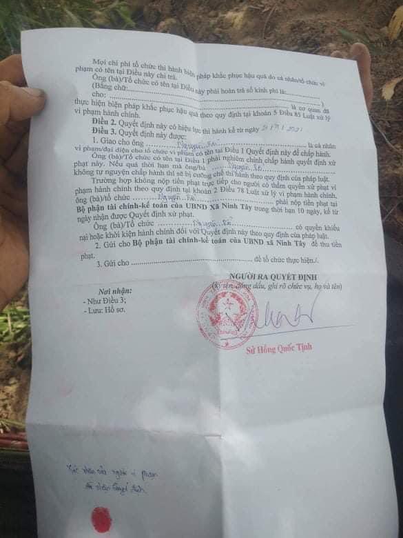 Khánh Hòa: Chủ tịch xã lên tiếng về việc người đi mua cá... bị phạt 2 triệu đồng - Ảnh 2.