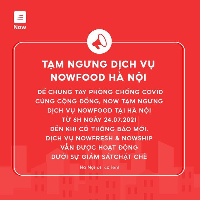 Giãn cách xã hội ở Hà Nội: Người dân có được đặt đồ ăn qua mạng không? - Ảnh 3.