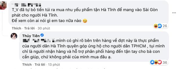"""Thuỷ Tiên bị tố """"nhận vơ"""" cả trăm tấn lương thực người dân Hà Tĩnh tiếp tế cho Sài Gòn, Công Vinh bức xúc lên tiếng phân trần - Ảnh 6."""