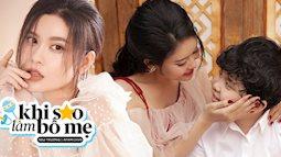 Trương Quỳnh Anh lần hiếm hoi chia sẻ về bản thân: Cuộc sống mẹ đơn thân nhiều niềm vui hơn những khó khăn