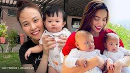 Quan điểm về con cái trái ngược giữa gia đình Hồ Ngọc Hà và Đàm Thu Trang gây xôn xao
