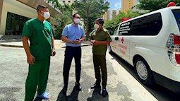 Ông Đoàn Ngọc Hải tặng 14 máy thở, 1.000 bộ đồ bảo hộ cho bệnh viện dã chiến ở Sài Gòn