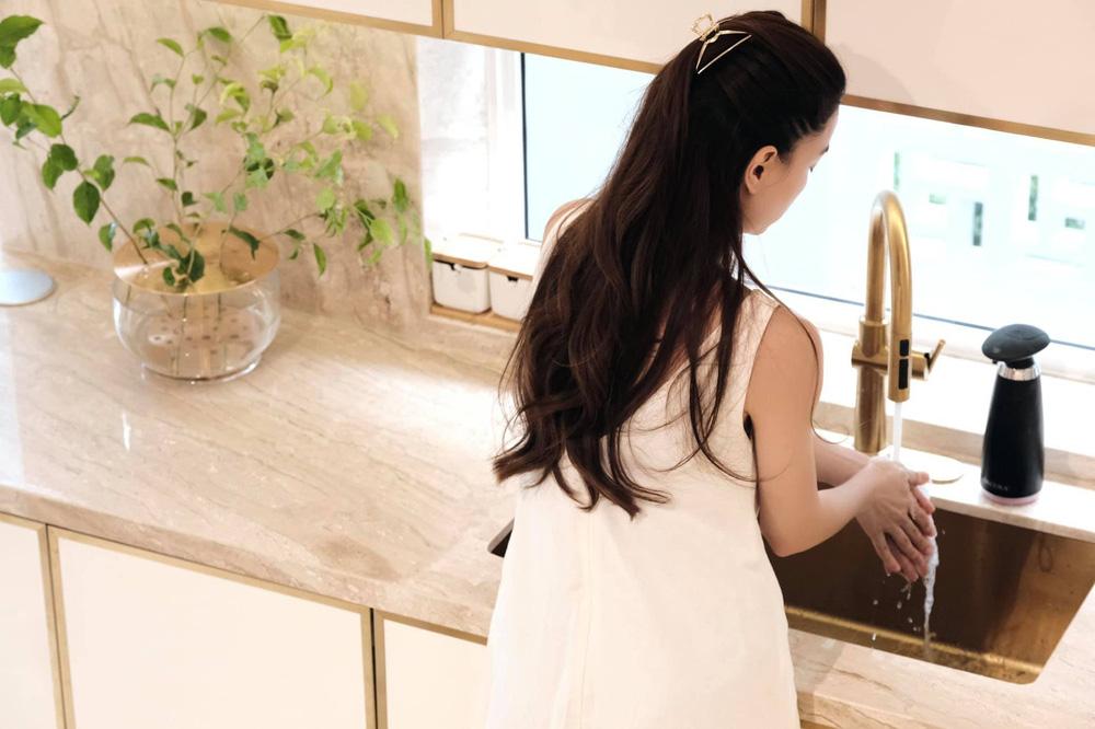 Cận cảnh căn bếp đặc biệt trong biệt thự mới tậu của vợ chồng Hồ Ngọc Hà - Ảnh 5.