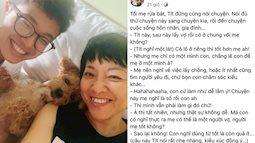 Con trai dụ Thảo Vân lấy chồng vì không muốn ở chung sau khi lấy vợ, nữ MC buồn rười rượi nhưng nghe lý do mới thấy tâm lý cỡ nào