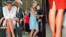 """""""Sởn da gà"""" khi thấy 4 kiểu giày của Công nương Diana đều là mốt bây giờ, thật không hổ danh huyền thoại phong cách"""