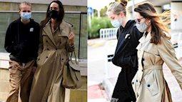 Đứng chung một khung hình, con gái tomboy của Angelina Jolie khiến mẹ trở nên thấp bé