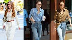 Style của mẹ bỉm sữa Gigi Hadid: Mặc đồ đơn giản cũng sang ngút ngàn, sau khi sinh con còn đẳng cấp hơn