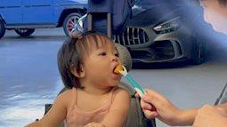 Đàm Thu Trang khoe ảnh con gái Suchin cùng anh Subeo, ai cũng khen khéo chăm em gái