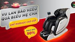 Tặng cha mẹ ghế massage Osanno cho mùa lễ Vu Lan