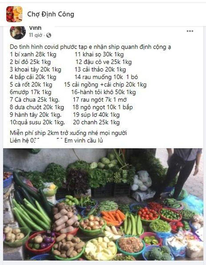 Bà nội trợ Hà Nội bảo nhau 4 cách không cần ra chợ vẫn luôn có thực phẩm tươi mỗi ngày - Ảnh 2.