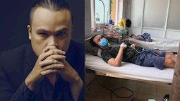Phỏng vấn gia đình nhạc sĩ 6 thành viên F0 cùng chống Covid-19: Chồng thở máy liên tục, phải mặc tã, vợ mang thai 6 tháng ho ra máu