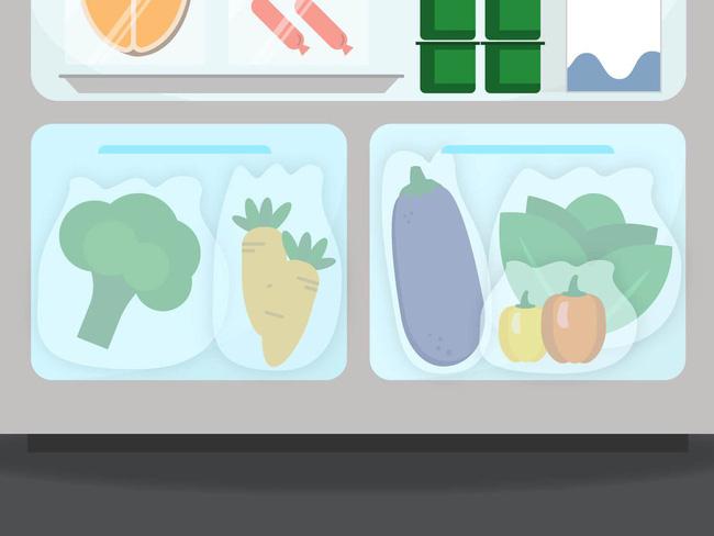 Mẹo cơ bản để tận dụng tối đa không gian tủ lạnh để  lưu  trữ  thực  phẩm - Ảnh 4.