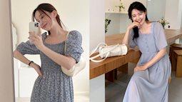 5 xu hướng váy dài mùa thu 2021: Kiểu nào kiểu nấy đều sang, chị em sắm thiếu là thiệt