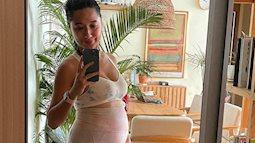 Đào Chi Anh than phiền dễ gắt gỏng, ủ rũ khi thai đôi lớn dần nhưng khó chịu nhất là điều này