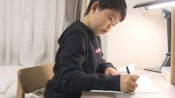 Thêm một bài tập tiếng Việt của học sinh khiến dân tình đọc xong sợ xanh mặt: Kiểu này bị ông đuổi ra khỏi nhà cũng còn nhẹ!