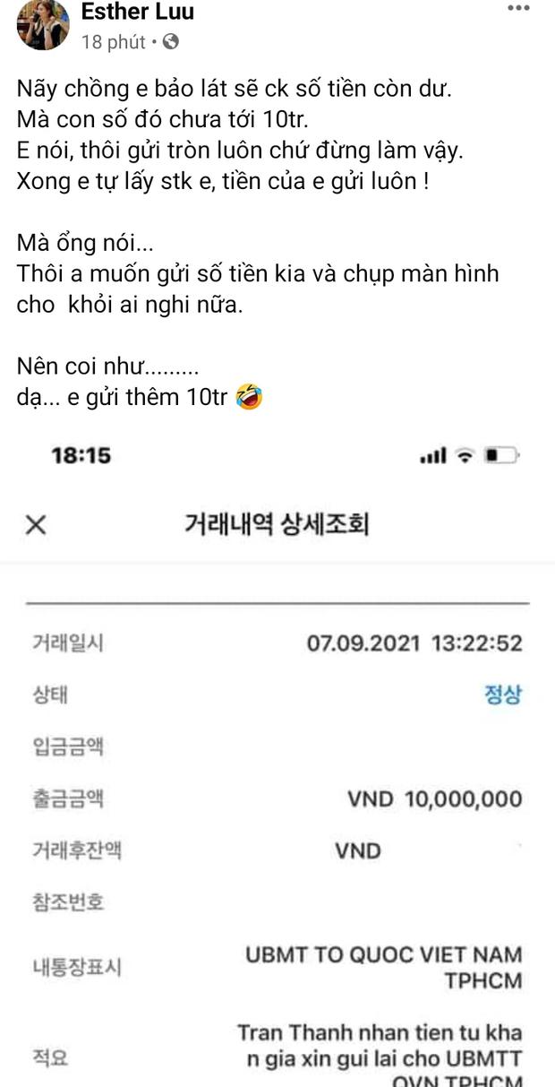 Hari Won cũng lên tiếng sau khi chồng tung 1.000 trang sao kê, thức trắng đêm cùng Trấn Thành làm 1 việc - Ảnh 1.