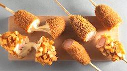 Làm hot dog Hàn Quốc siêu dễ chỉ với vài nguyên liệu đơn giản ai cũng có, thành phẩm thì cả nhà ai cũng mê