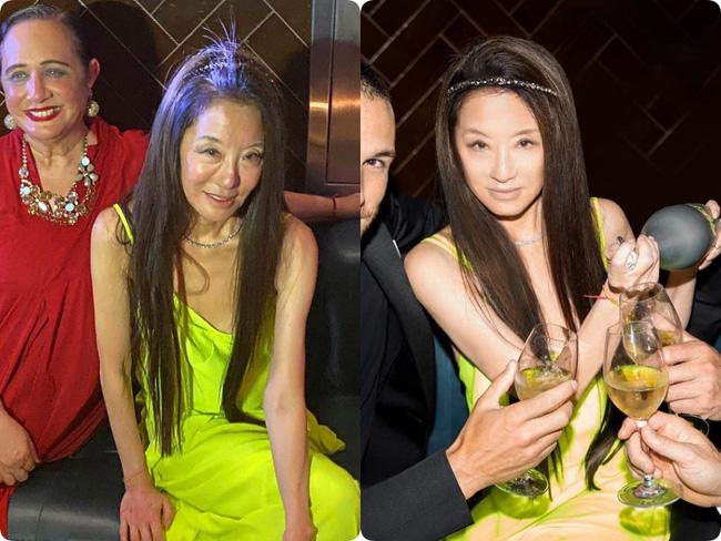 Vera Wang, Met Gala 2021, Vera Wang lộ dáng tong teo, nhan sắc thật của Vera Wang, nhan sắc tuổi 72 của Vera Wang