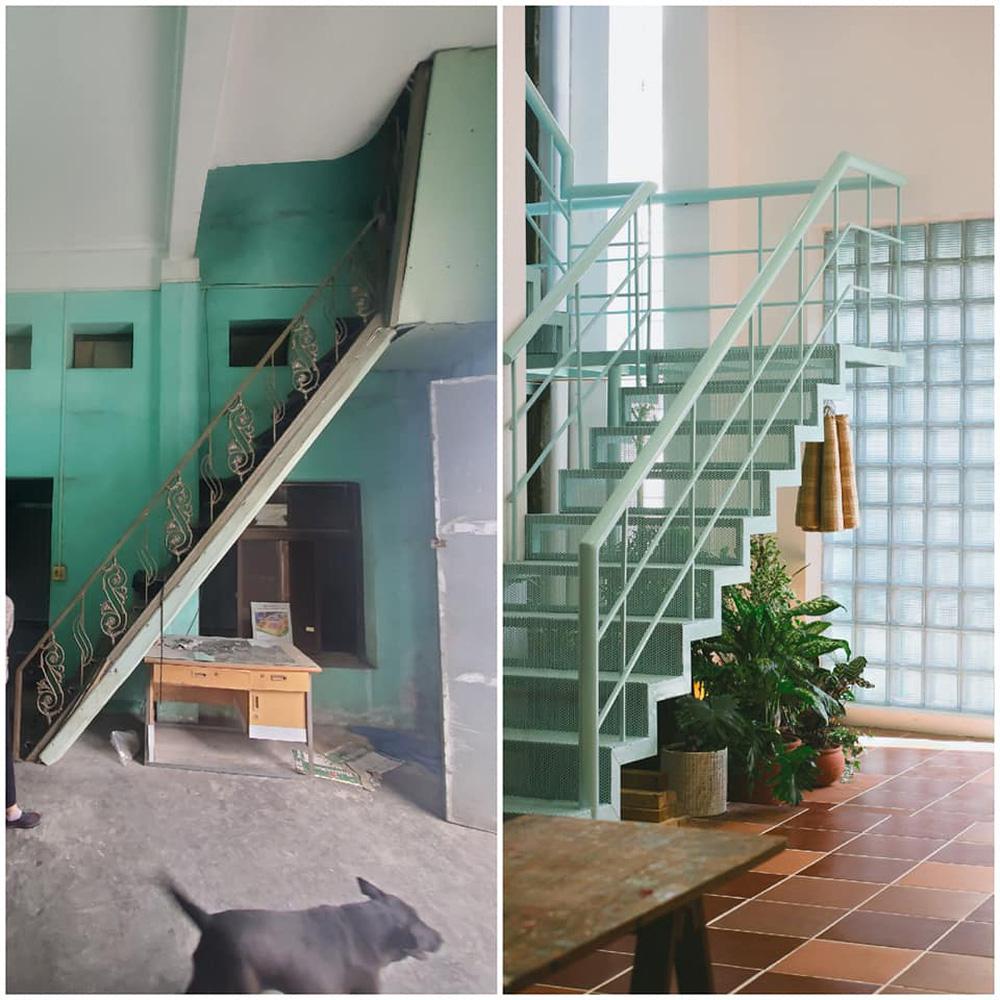 Vợ chồng giáo viên mỹ thuật phù phép nhà cũ 30 năm tuổi thành không gian chuẩn nghệ, ngắm góc nào cũng thấy thích - Ảnh 14.