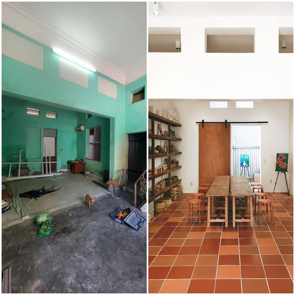 Vợ chồng giáo viên mỹ thuật phù phép nhà cũ 30 năm tuổi thành không gian chuẩn nghệ, ngắm góc nào cũng thấy thích - Ảnh 6.