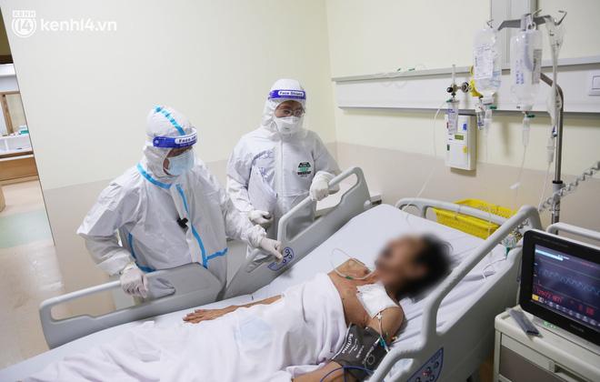 180 phút chạy đua, giành từng hơi thở cho bệnh nhân u đại tràng, nguy kịch do Covid-19: Mừng lắm, tôi thấy mình sống rồi - Ảnh 8.