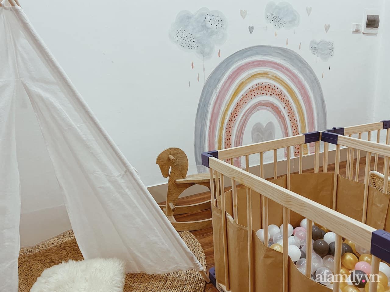 Không gian mẹ trang trí tặng bé ấn tượng với sắc màu Vintage ở Hà Nội - Ảnh 9.
