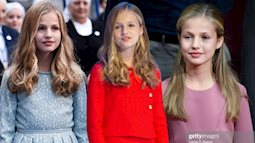Công chúa Tây Ban Nha càng lớn càng xinh đẹp, phong cách thời trang đẳng cấp đúng chuẩn Nữ hoàng tương lai
