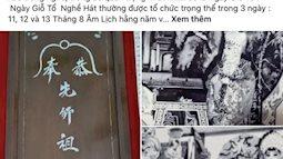 """NS Hồng Vân bị netizen """"bão"""" công kích đúng ngày Giỗ tổ sân khấu, lùm xùm quảng cáo bất ngờ bị khui lại"""