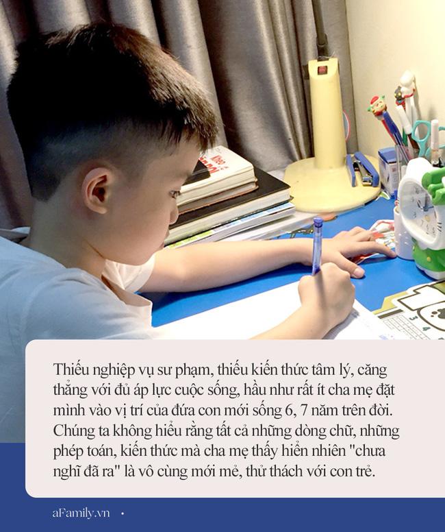 Nếu cha mẹ không thể kìm chế khi dạy con học, hãy tìm dây trói tay mình lại - Ảnh 2.
