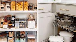 11 mẹo tuyệt vời để sắp xếp được những ngăn tủ bếp hoàn hảo chẳng chê được chỗ nào
