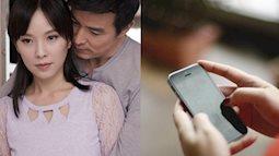 """Mượn điện thoại chồng để con học trực tuyến, vợ phát hiện bí mật động trời và câu hỏi ngược khiến anh ta """"cứng họng""""!"""