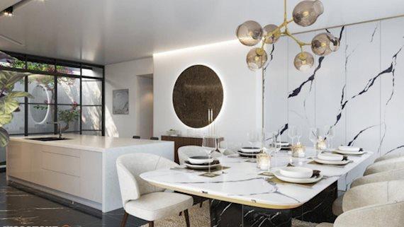 Bí quyết ghi điểm với những căn bếp màu trắng hiện đại