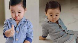 """Điều gì đặc biệt khiến bé Bo nhà mẹ Hòa Minzy vừa tái xuất đã nhanh chóng """"gặt"""" 100k like?"""