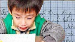 """Học sinh tiểu học làm văn tả bố, chỉ vỏn vẹn 6 dòng mà đọc xong bố chỉ muốn """"độn thổ"""", tình cha con toang đến nơi!"""