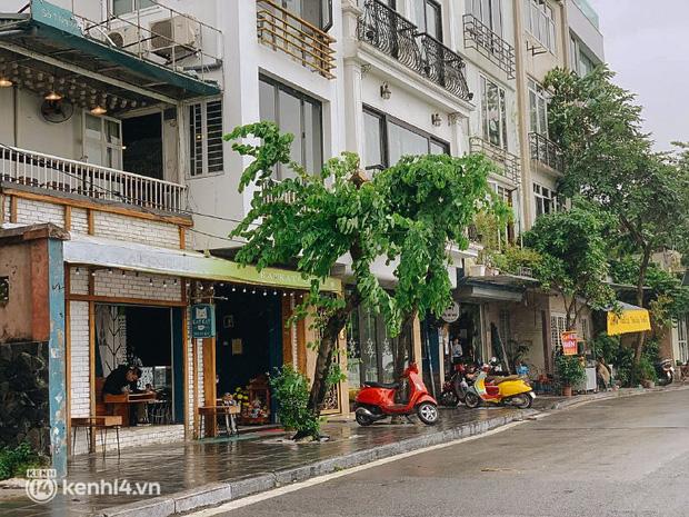 Các khu phố cà phê ở Hà Nội tưng bừng mở lại, ngồi chill ngày mưa xin chấm 10 điểm lãng mạn! - Ảnh 11.