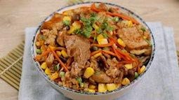 Bữa cơm 1 món đủ cả thịt lẫn rau: Ăn ngon mà chế biến nhàn tênh lại chẳng phải rửa nhiều nồi niêu xoong chảo!