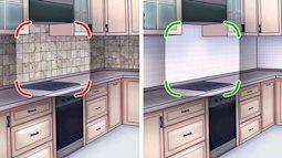 8 sai lầm bạn tuyệt đối cần tránh khi cải tạo bếp