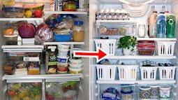 Áp dụng ngay 10 mẹo này để tủ lạnh của bạn siêu gọn gàng