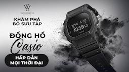 Bộ sưu tập các dòng đồng hồ Casio nam hấp dẫn mọi thời đại
