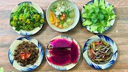 Mâm cơm ngày lạnh 4 món đủ màu sắc lẫn hương vị, vừa ngon lại vừa lành